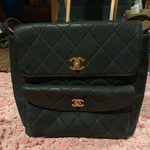authentic vintage Chanel bag - rare needs some TLC